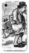 Thomas Nast (1840-1902) IPhone Case by Granger
