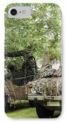 Vw Iltis Jeeps Used By Scout Or Recce IPhone Case by Luc De Jaeger