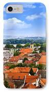 Zemun Rooftops In Belgrade IPhone Case