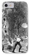 New York: Draft Riots 1863 IPhone Case by Granger