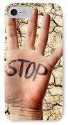 Environmental Protest IPhone Case by Victor De Schwanberg
