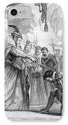 Francis Drake (1540?-1596) IPhone Case by Granger