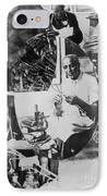 George W. Carver, African-american IPhone Case by Science Source
