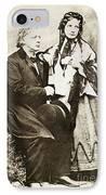 Henry Ward Beecher IPhone Case by Granger