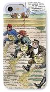 League Of Nations Cartoon IPhone Case by Granger