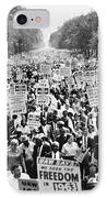 March On Washington. 1963 IPhone Case by Granger
