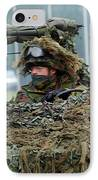 A Recce Or Scout Team Of The Belgian IPhone Case
