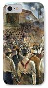 Homestead Strike, 1892 IPhone Case by Granger
