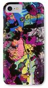 Moon Rock, Transmitted Light Micrograph IPhone Case by Michael W. Davidson - FSU