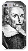 William Harvey, English Physician IPhone Case
