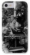 Climax Geared Locomotive IPhone Case