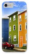 Colorful Houses In St. John's Newfoundland IPhone Case