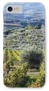 Vineyards And Olive Groves IPhone Case by Jeremy Woodhouse