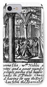 Spanish Armada, 1588 IPhone Case by Granger
