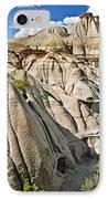 Badlands In Alberta IPhone Case by Elena Elisseeva