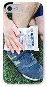 Injured Ankle IPhone Case