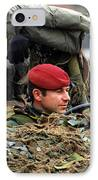 Members Of A Recce Or Scout Team IPhone Case