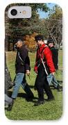Soldiers March IPhone Case by LeeAnn McLaneGoetz McLaneGoetzStudioLLCcom