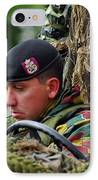 Members Of A Recce Or Scout Team IPhone Case by Luc De Jaeger