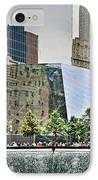 9/11 Memorial IPhone Case by Gwyn Newcombe
