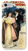 A Contented Woman, C1898 IPhone Case
