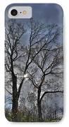 A Fall Sky IPhone Case by David Bearden