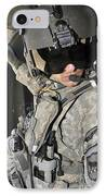 A Flight Medic Conducts A Daily IPhone Case by Stocktrek Images