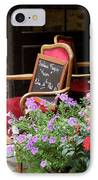 A French Restaurant Greeting IPhone Case