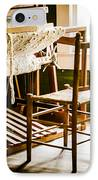 A Loom For Grandma IPhone Case by Carolyn Marshall