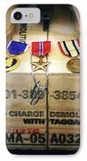 A Memorial Dedicated To An Airman Who IPhone Case by Stocktrek Images