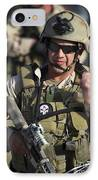 A Military Reserve Navy Seal Gives IPhone Case