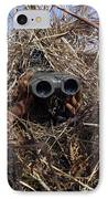 A Scout Observer Practices Observation IPhone Case