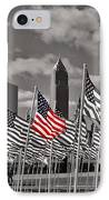 A Sea Of #flags During #marineweek IPhone Case by Pete Michaud