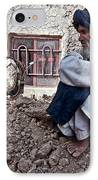 A Soldier Collects Information IPhone Case by Stocktrek Images