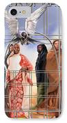 A Song For The Caged Birds Of Mauritania IPhone Case by Reggie Duffie