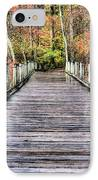 A Stroll Through Autumn IPhone Case by JC Findley