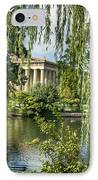 A View Of The Parthenon 10 IPhone Case by Douglas Barnett