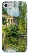 A View Of The Parthenon 13 IPhone Case