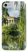A View Of The Parthenon 16 IPhone Case by Douglas Barnett