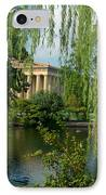 A View Of The Parthenon 8 IPhone Case by Douglas Barnett