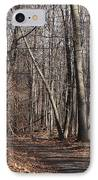 A Walk In The Woods IPhone Case by Robert Margetts