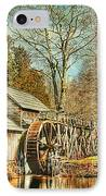 A Winters Day  IPhone Case by Darren Fisher