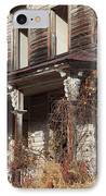Abandoned Dilapidated Homestead IPhone Case by John Stephens