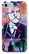 Abbott Kinney IPhone Case by Tony B Conscious