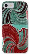 Abstract Fusion 88 IPhone Case by Will Borden