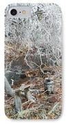 After The Ice Storm In Maine IPhone Case by Jeannie Atwater Jordan Allen