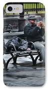 Afternoon Music IPhone Case by Perry Webster