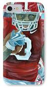 Alabama Running Back IPhone Case by Michael Lee
