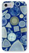 Algae, Fossil Diatoms, Lm IPhone Case by M. I. Walker
