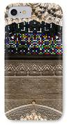 Alhambra Stained Glass Detail IPhone Case by Jane Rix